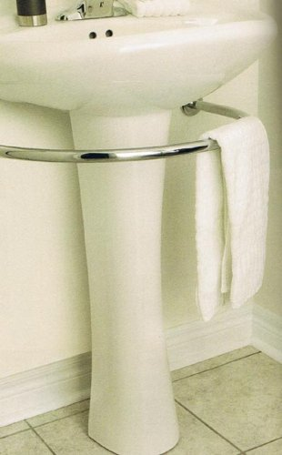 Amazoncom Harmon Pedestal Sink Towel Bar Rack Bath Bathroom