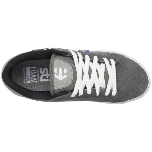 Etnies FADER VULC 4101000282370 - Zapatillas para hombre Grau (370 , Grey/White)