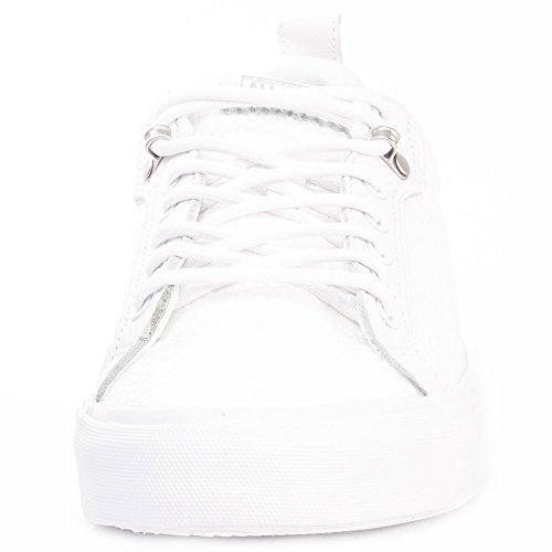Converse Hombre AS Fulton OX Weave Trainers, Blanco Blanco