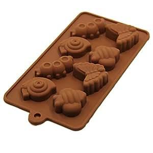 TUUM de metal de silicona chocolate mold Candy y GOMINOLA molde 2579