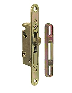 8. FPL #3-45-S Sliding Glass Door Replacement Mortise Lock with Adapter Plate