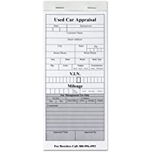 Used Car Appraisal Pad - Extremely user friendly, VIN chart included. 45 Duplicate Carbonless Sheets per Pad - Pack of 5 Pads for a total of 225 appraisals!