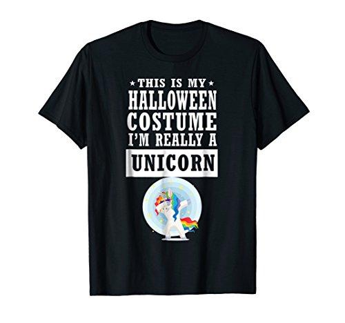 Dabbing Unicorn Halloween Costume T-shirt This Is My Costume