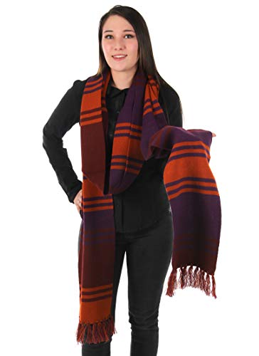 elope Dr. Who Fourth Doctor Deluxe Purple Knit