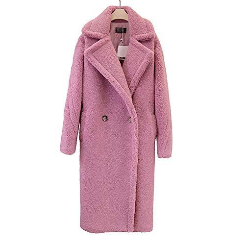 Rouge Femmes Rose Long D'hiver Rose Noir Vêtements Brun Xl Oversize L Coupe Zjewh Manteau Xl vent Pour xR7Zff