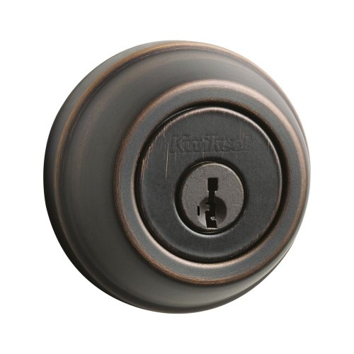 Kwikset 780 Single Cylinder Deadbolt featuring SmartKey in Venetian Bronze