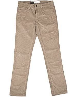 Calvin Klein & Co. Womens Slim Straight Corduroy Pants!