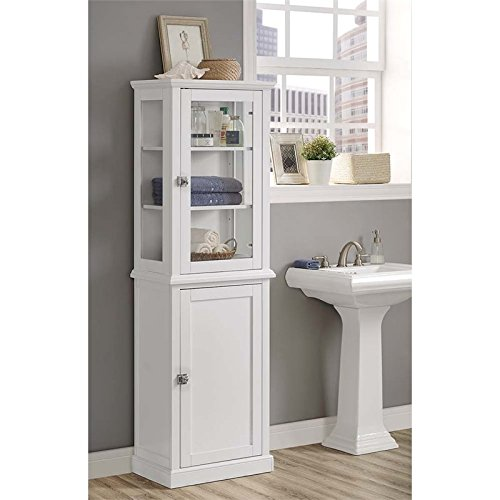 Riverbay Furniture Tall Linen Cabinet in ()