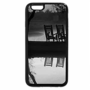 iPhone 6S Plus Case, iPhone 6 Plus Case (Black & White) - RELAX & WATCH the SUNSET