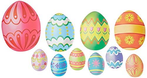 Easter Egg Cutouts   (10/Pkg) -