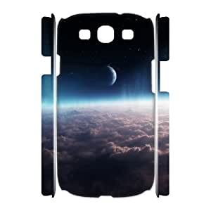 3D Space Case For Samsung Galaxy S3 White Nuktoe267418