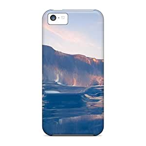 Defender Case With Nice Appearance (nature's Sculpture) For Iphone 5c