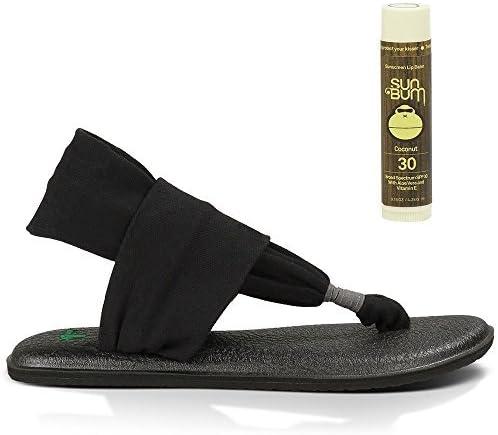 Sanuk Yoga Sling 2 Sandals with Free Sun Bum Coconut Lip Balm