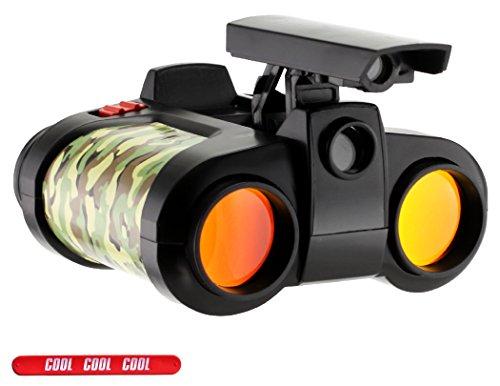 Childrens Camoflauge Camo Binocular Set with Pop Up Night Vision with COOL Slapstick