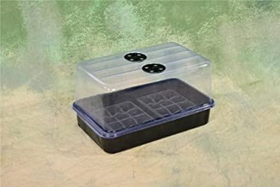 "Level 1 Plant Propagation Cloning Kit: Humidity Dome, Tray and Inserts! 15"" x 9"" x 8"""