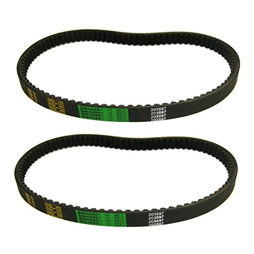 Atoparts(Pack of 2 Murray Go Kart 37X98 Drive Belt Comet Torque Converter 203597 Replaces - 98 Series