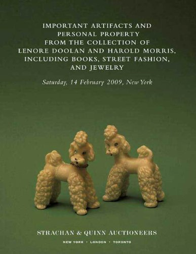 Important Artifacts and Personal Property from the Collection of Lenore Doolan and Harold Morris, Including Books, Street Fashion, and ()