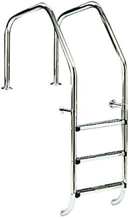 Astralpool Escalera para Piscina con Bordo sfioro Escalera Mod.1000 A 2 Peldaños – 07514: Amazon.es: Jardín