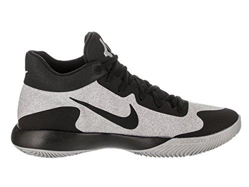 Nike - Nike Kd Trey 5 V Scarpe Basket Uomo Grigie e Nere Weiß-Schwarz-Grau