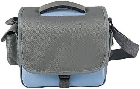Funda Estuche Bolsa Protectora para Cámara Compacta, Anti Choque Case Impermeable Viaje Caja a Prueba de Golpes de Almacenamiento de Protección Bolsa para DSLR Canon Nikon (Azul): Amazon.es: Electrónica