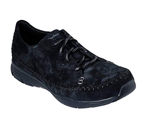 Mujer Black Bbk Sintetico mush Skechers 49484 Skechers 6qIHxwnYXt