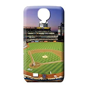 samsung galaxy s4 Shock-dirt Plastic High Grade mobile phone cases new york mets mlb baseball