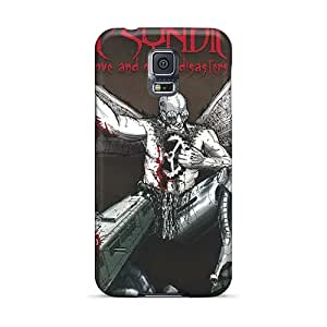 Excellent Hard Phone Covers For Samsung Galaxy S5 With Unique Design Realistic Guns N Roses Image KellyLast