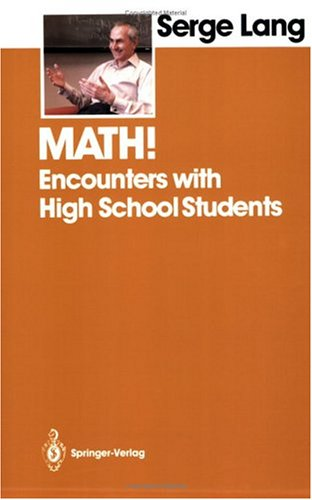 Download Math!: Encounters with High School Students Pdf