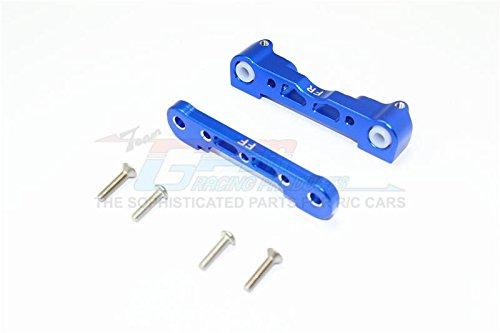 Arrma Kraton 6S BLX (AR106005/106015/106018) Upgrade Parts Aluminum Front Lower Suspension Mount - 1Pr Set Blue