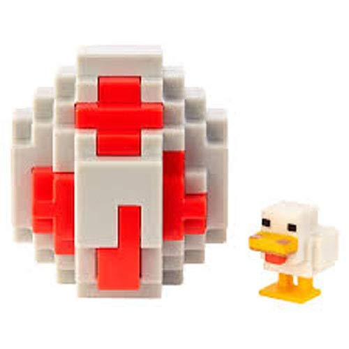 (Minecraft Chicken Mini-Figure Spawn Egg)