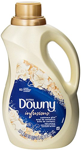 Downy Ultra Infusions Fabric Softener, Cashmere Glow, 83 Loads 77 Fl Oz