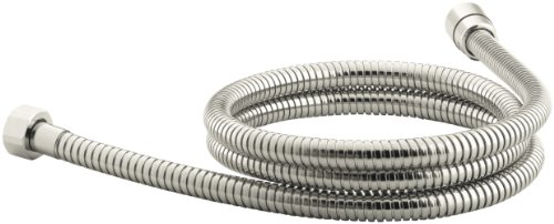 Kohler K-8593-SN MasterShower 72-Inch Metal Shower Hose, Vibrant Polished Nickel by Kohler