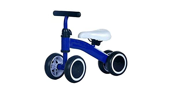 LXPY Bebé Equilibrio Coche Bicicleta niño Andador Cuatro Ruedas ...