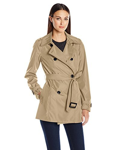 reasonably priced new high quality greatvarieties LARRY LEVINE Women's Db Short Trench