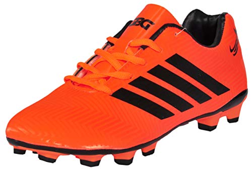 (GBG Messi Football Studs -9686-Orange-8)