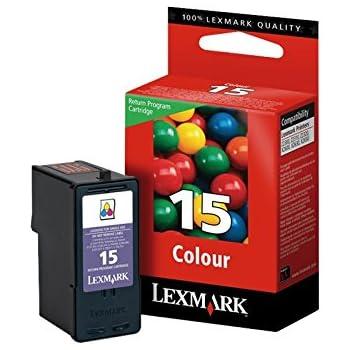 Lexmark No 15 Color Return Program Print Cartridge