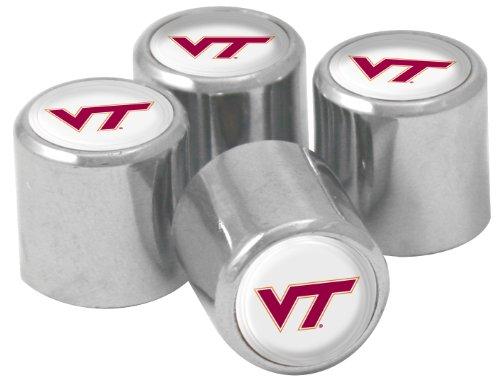 - NCAA Virginia Tech Hokies Metal Tire Valve Stem Caps, 4-Pack