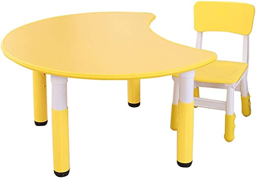 Folding table and chair Juego De Mesa Y Silla para NiñOs, Elevador ...