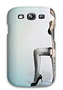 CaseyKBrown Premium Protective Hard Case For Galaxy S3- Nice Design - Blue Body Art