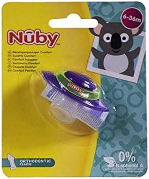 Nuby ID92990MOS - Chupete ortodóntico clásico: Amazon.es: Bebé