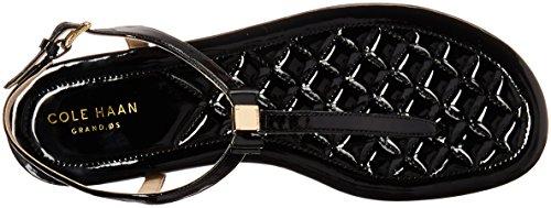 Tali Bow Cole Women's Patent Mini Black Haan Sandal 8ET6v