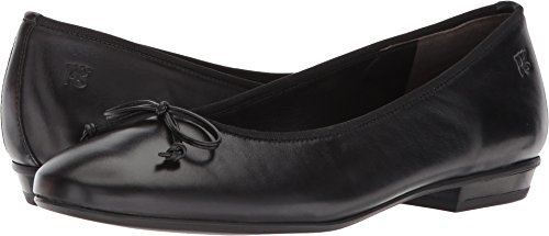 Paul Green Womens Sheridan Flat Black Leather