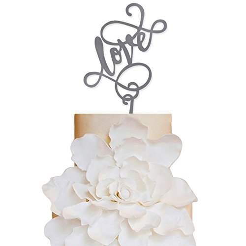Sugar-Yeti-Brand-Made-in-USA-Cake-Toppers-Love-Wedding-Cake-Toppers-Wedding-Decoration-Acrylic-Cake-Topper-for-Special-Events