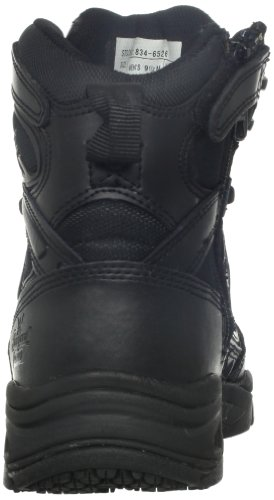 Thorogood Mens 6-tums Dragkedja Boot Svart Läder / Nylon