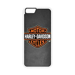 iPhone 6 Plus 5.5 Inch Cell Phone Case White Harley Davidson 003 Delicate gift AVS_625412