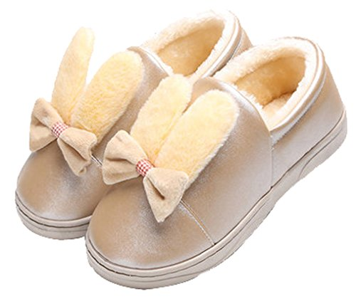 Yellow Blubi Cute Women's Rabbit Doll Slippers Slippers rffY6Pqw