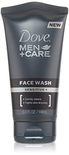 Dove Men Care Sensitive Face Wash, 5 Ounces Pack of 2