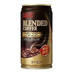 UCC ブレンドコーヒー缶 185g×30本