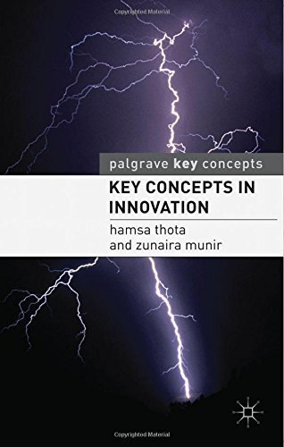 Key Concepts in Innovation (Palgrave Key Concepts) by Hamsa Thota (2011-08-15)