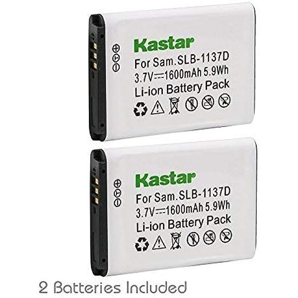 Akku SLB-1137D für Samsung NV103,NV106 HD,TL34HD